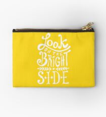 Look On The Bright Side Studio Pouch