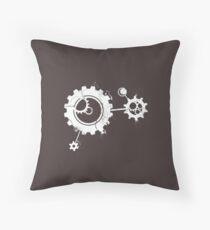 Clockwork [DARK] Throw Pillow