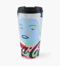 Marilyn Monroe American Flag Graphic  Travel Mug
