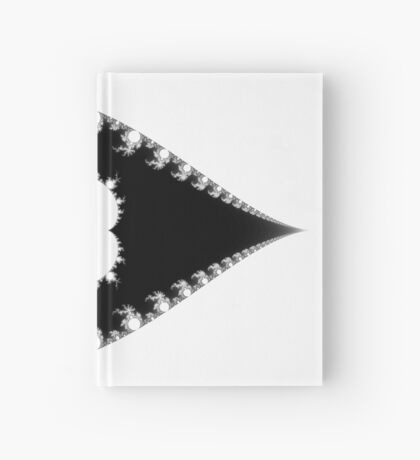 Inverted & Mandelbrot Monochrome Hardcover Journal