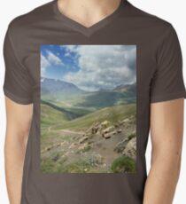 a large Uzbekistan landscape T-Shirt