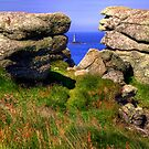 The Longships Lighthouse from Land's End by Paul Thompson Photography