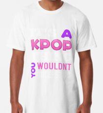 A KPOP THING - BLACK Long T-Shirt