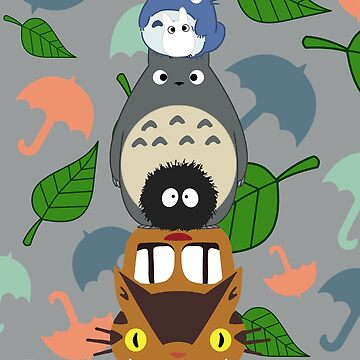 Totem Totoro by CanisPicta