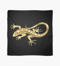 Golden Lizard Scarf