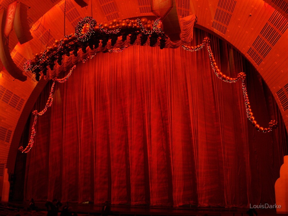 The Great Stage - Radio City Music Hall by LouisDarke
