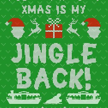 Jingle Cruise Xmas Sweater by JungleCrews