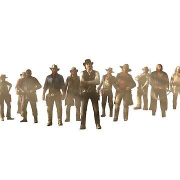 The Gang by dftba-