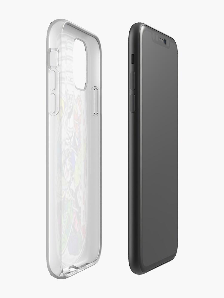 Coque iPhone «Baskets en verre», par Kerridruth