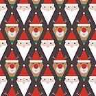 «Santa y Rudolph II (Patrones por favor)» de lalainelim