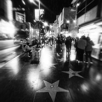 Downtown Hollywood California by CaliforniaPhoto