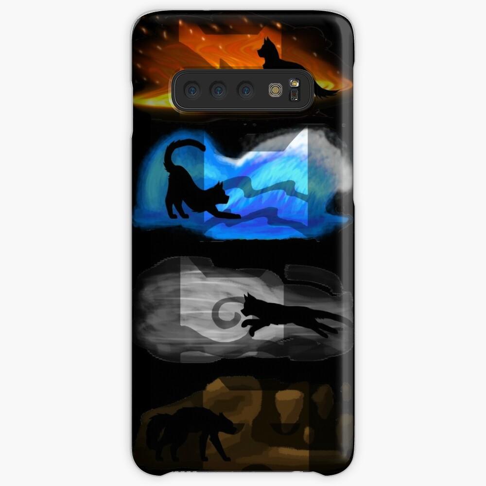 Gatos guerreros: cuatro elementos, cuatro clanes Funda y vinilo para Samsung Galaxy