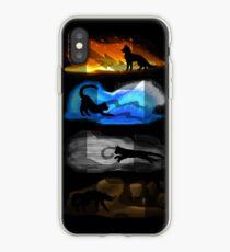Warrior Cats: Four Elements, Four Clans iPhone Case