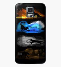 Krieger Katzen: Vier Elemente, vier Clans Hülle & Klebefolie für Samsung Galaxy