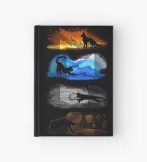 Warrior Cats: Four Elements, Four Clans Hardcover Journal