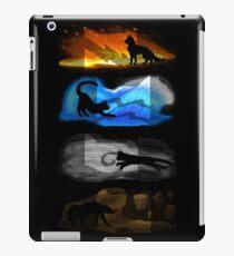 Vinilo o funda para iPad Gatos guerreros: cuatro elementos, cuatro clanes
