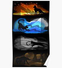 Krieger Katzen: Vier Elemente, vier Clans Poster