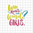 «¿Quien corre el mundo? ¡Chicas!» de Anna Kutukova