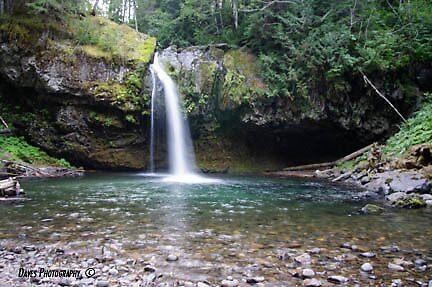 Iron Creek Falls by DavesPhoto