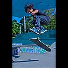 skate boarder by Ron  Wilson
