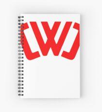 chad wild clay Tee Spiral Notebook