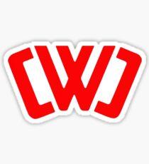 chad wild clay Tee Sticker