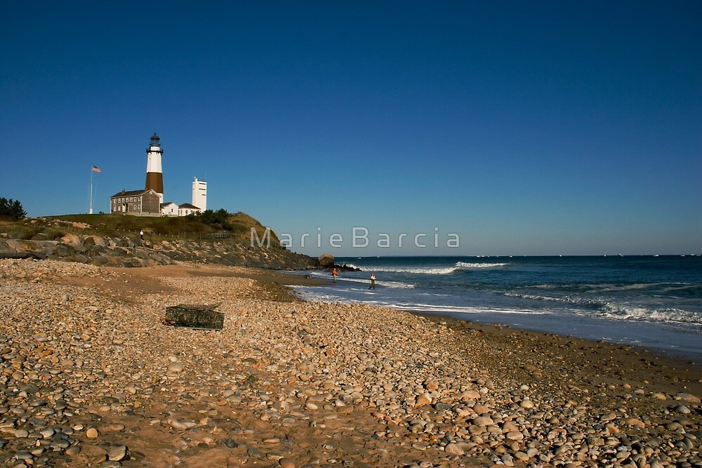 Montauk Point Lighthouse by M a r i e B a r c i a