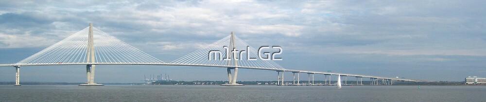 Bridge In Charleston Harbor by m1trLG2