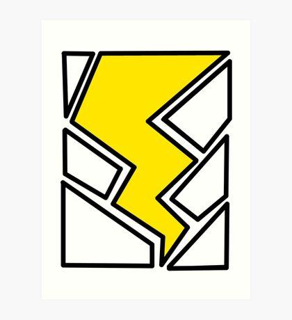Lightning Bolt Art Print