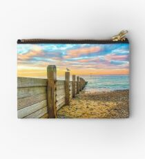 Cromer Beach at Sunset Studio Pouch