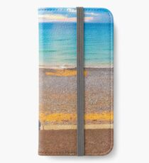 Cromer Beach at Sunset iPhone Wallet/Case/Skin