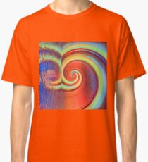 Fibonacci abstract reflections Classic T-Shirt