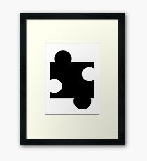 Puzzle Piece Framed Print