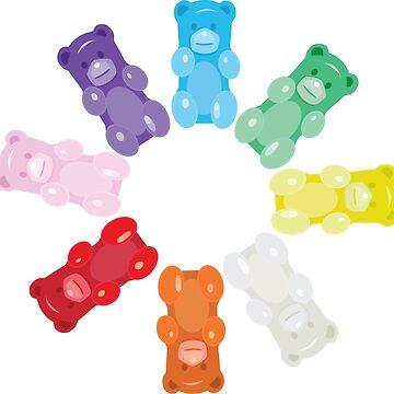 Gummy Bear Circle by underwatercity
