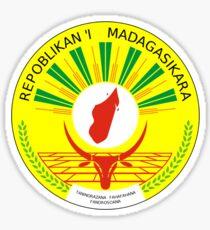 National Seal of Madagascar  Sticker