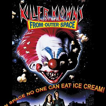 Killer Klowns From Outer Space by RobinBegins