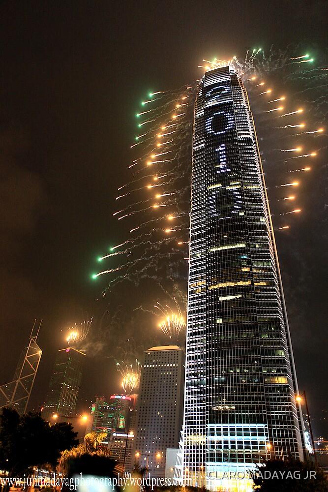 Happy New Year from Hong Kong by CLARO MADAYAG JR
