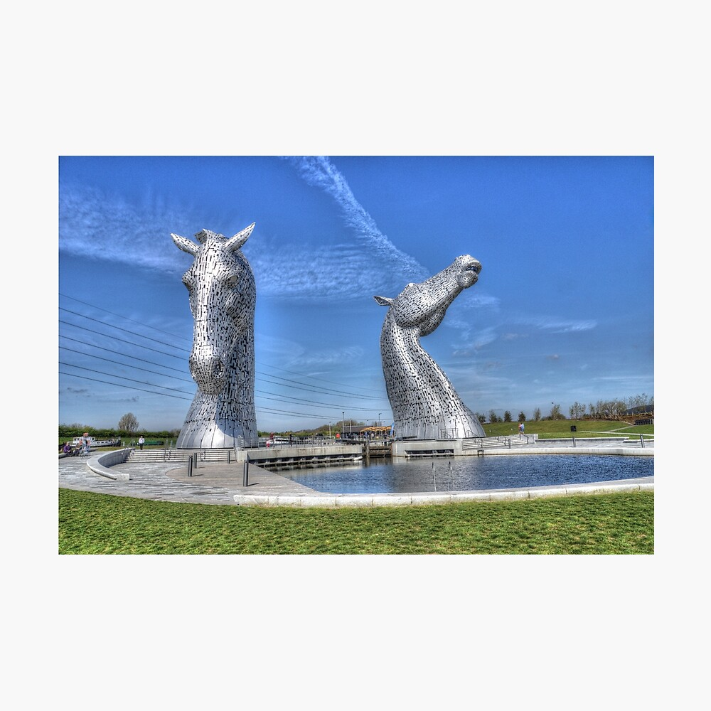 The Kelpies sculptures  Photographic Print