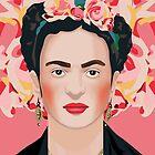 Frida mi amor · Pink by Yellow-Studio