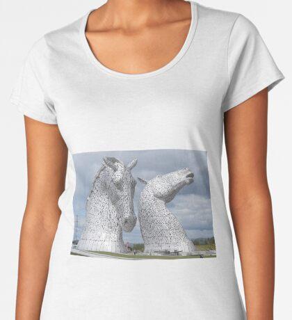 The Kelpies gifts , Helix Park, Scotland Women's Premium T-Shirt