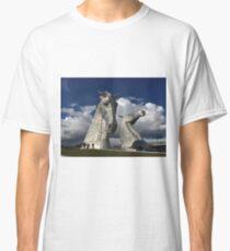 The Kelpies, Helix Park , Grangemouth Classic T-Shirt