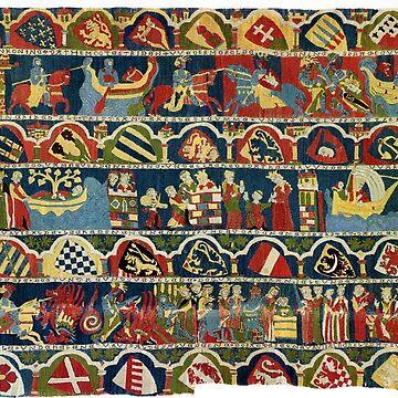 Arthurian Tapestry art by Geekimpact