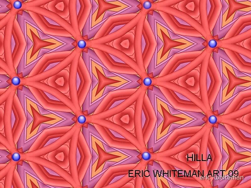 ( HILLA )  ERIC WHITEMAN  ART  by eric  whiteman