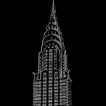 Chrysler Building New York by louweasely