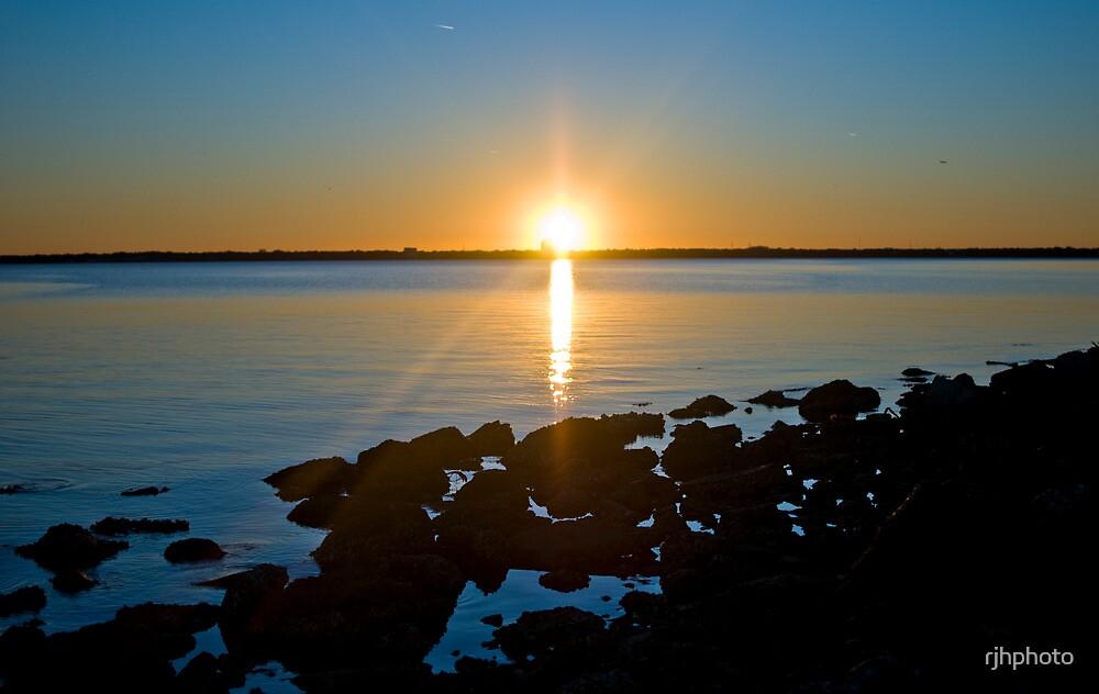 Tampa Sunset by rjhphoto
