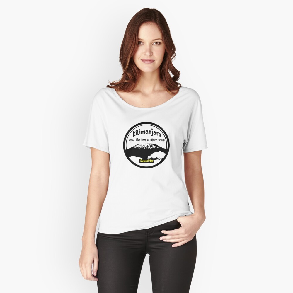 Kilimanjaro Summitter - The Roof of Africa Relaxed Fit T-Shirt
