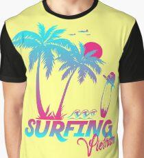 Surfing Vietnam Graphic T-Shirt