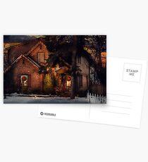 Christmas - Gingerbread House Postcards