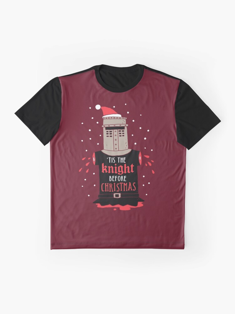 Alternate view of Christmas Knight Graphic T-Shirt