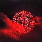 Firework red by andreisky